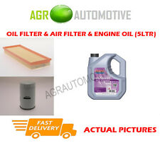 PETROL OIL AIR FILTER KIT + FS 5W30 OIL FOR FORD MONDEO 1.6 90 BHP 1996-00