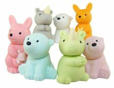 Iwako Erasers - Wild Animals - kangaroo, rhino and polar bear (7pcs)