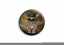 Steampunk - Chat 1 - Badge 56mm Button Pin