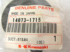 KAWASAKI AIR DUCT 14073-1715 ZX600J ZX600G ZZR600 ZX 600 ZZR NEW # 1 + 4