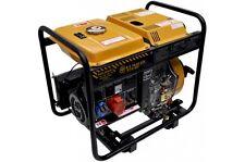 Generatore di corrente 6 kw trifase diesel -gruppo elettrogeno avv.elettrico/man