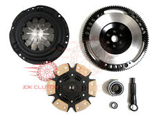 JDK Stage 3 Ceramic Clutch Kit 8 lbs Flywheel Honda CIVIC D15 D16 D17 92-05 MIBA