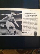 L1-6 Advert 1959 Football Jimmy Greaves Trains And Wins With Bovril