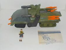 Vintage GI Joe 1986 HAVOC Vehicle w/ Cross Country Driver Complete Vehicle