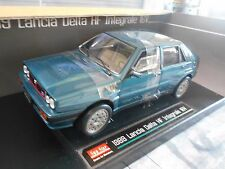 Lancia Delta 8v 4x4 Integrale 1989 Green Blue azul met Sunstar rar 1:18