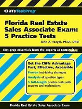 CliffsTestPrep Florida Real Estate Sales Associate Exam : 5 Practice Tests by...