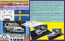 ANEXO DECAL 1/43 LANCIA DELTA S4 M.ERICSSON 1000 LAKES 1986 7th (04)