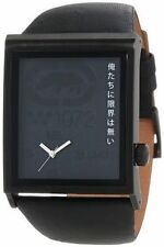MARC ECKO MEN'S BLACK IN BLACK GADGET EDITION WATCH E14508G5