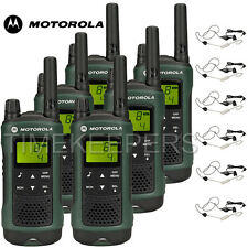 10Km Motorola TLKR T81 Hunter IPX4 Rugged All Weather Two Way Radios Six Pack