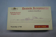HP Models 1:700 Waterline German Navy   Artillerie-Schnellboot  -Projekt 1943-