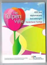 2012 Tulpen vijfje 5 euro Nederland KNM - Proof in Blister**