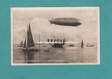 Am Bodensee Grofflugzeug Do X und Luftschiff Graf Zeppelin 1931 Sail boats Water
