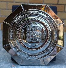 "Community Shield Trophy 15CM 5"" Full Metal Silver Plated Brand New MINT"