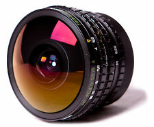 Peleng 8 mm Fisheye Lens for Canon EOS. + FREE FILTERS SET.  BelOMO EWP