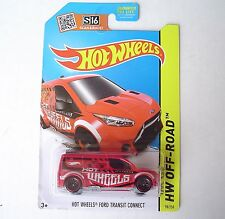 Hot Wheels Ford Transit Connect. HW Off-Road 98/120. CFK51. New in Package!