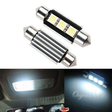2 X BOMBILLAS COCHE FESTOON C5W 36MM 3 LED SMD 5050 MATRICULA CANBUS NO ERRORES