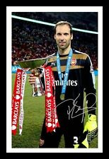 PETR CECH - ARSENAL AUTOGRAPHED SIGNED & FRAMED PP POSTER PHOTO