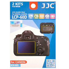 JJC LCP-60D ultra hard polycarbonate LCD Film Screen Protector Canon EOS60D 60D