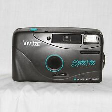 Vivitar Spree Free Motor/Auto Flash  35mm Point and Shoot Film Camera