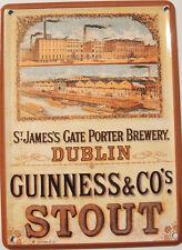 GUINNESS Brewery MiniTin Sign