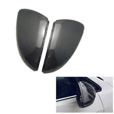 Carbon Fiber Rear View Side Wing Mirror Covers For VW Golf7 MK7 VII TSI GTI 2014