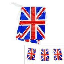 UK Union Jack Bunting 12 Feet 11 Flags Street Party Queens 90th Birthday