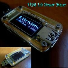 USB 3.0 OLED Battery Charger Volt Current Power Capacity Tester Ammeter Meter