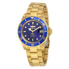 Invicta Pro Diver Automatic Blue Dial Gold-plated Mens Watch 8930OB