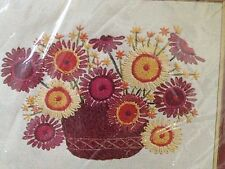 NEW VINTAGE Paragon DRIED BOUQUET Barbara Sparre crewel embroidery kit 0527