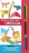 Punch and Color: Punch and Color: Animals by Kim Sunkyung and Inkyeong Kim-Bol (
