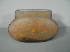 VASE EN PATE DE VERRE SIGNE DAUM NANCY / VASE DAUM NANCY FRANCE
