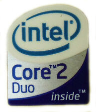 INTEL CORE 2 DUO  STICKER LOGO AUFKLEBER 10x12mm (131)