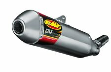FMF Q4 Slip-On Muffler Hex with Spark Arrestor SS For Honda CRF250L 13-14