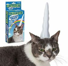 Inflatable Unicorn Horn for Cats White Vinyl By Archie McPhee