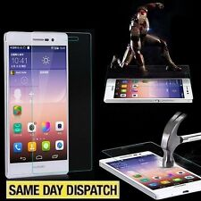 Genuine Tempered Glass Film Screen Protector for HUAWEI Ascend P7 & Package