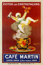 "TARGA VINTAGE ""CAFE' MARTIN"" Locandina Storica Poster BAR, PUB, RISTORANTE,CASA"