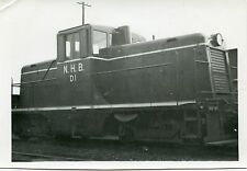 6A589 RP 1940/50s NHM NATIONAL HARBOURS BOARD RAILROAD LOCO #D1 MONTREAL PQ