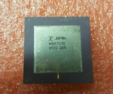 FUJITSU VINTAGE CPU MB87030 GOLD PLATED CERAMIC IC RARE