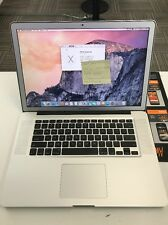 """MacBook Pro 15"""" Mid 2010 A1286 2.66GHz i7 4GB RAM-500GB -VERY GOOD CONDITION"""