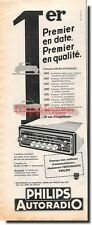 Advertising advertising 1959 - Philips Car stereo advertising paper)