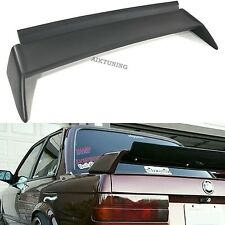 BMW E30 Rear EVO M3 Style Trunk Spoiler Wing Boot Lid Lip Apron Guerney Flap