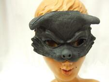 Cat Half Mask ~ Latex Rubber  ~ Witch ~ Horror ~ Halloween