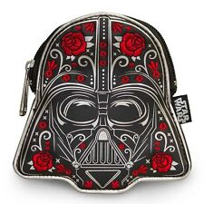 "NEW Loungefly X Star Wars ""ROSE FLORAL DARTH VADER"" Coin Bag -40% OFF"