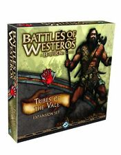 Fantasy Flight Battles of Westros Tribes of the Vale Expansion Battle Lore
