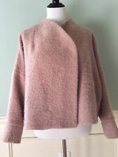 NWT Rachel Comey Route Swing Jacket/Coat in Pink Boucle, Size 4/Medium