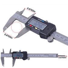 """150mm 6"""" zoll Edelstahl Elektronik Digital Vernier Zange Mikrometer LCD"""
