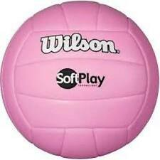 WOMEN'S YOUTH WILSON SOFT PLAY PINK VOLLEYBALL INDOOR OUTDOOR SPORT BALL NWT
