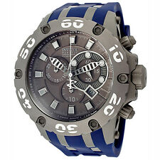 New Mens Invicta 12085 Subaqua Reserve Swiss Made Chronograph Grey Dial Watch