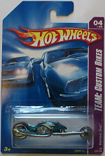 2008 Hot Wheels ~Team: Custom Bikes~ Hammer Sled 4/4 (MF Green Version)