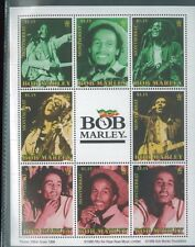 BOB MARLEY Mini Sheet of 9 #954 MNH - Montserrat E21